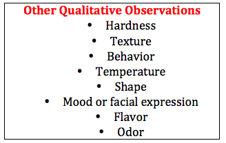 Qualitative Definition Biology
