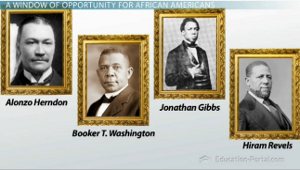 Reconstruction Notable African Americans