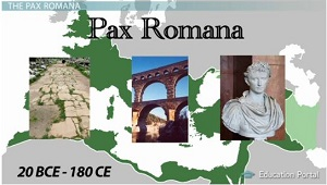 a history of the pax romana in the greek roman period The empire reached its height in the first two centuries of the common era from 27 bce to 180 ce, a time known as the pax romana, or roman peace, roman leaders controlled about 130 million people across an area of about 15 million square miles, from a city of 1 million people roman roads linked all parts of the empire.