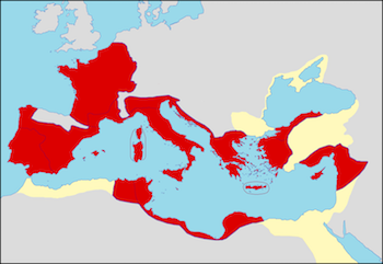 Climate In Ancient Rome Lesson For Kids Studycom - Ancient rome map roman empire