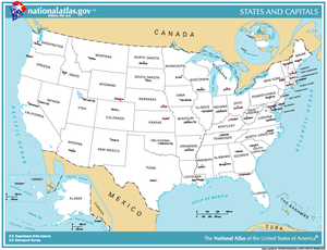 Identifying U S States On A Map