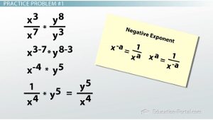 Simplifying Expressions with Exponents Solution 1