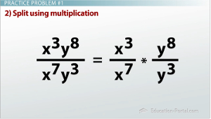 Splitting Expressions with Multiplication