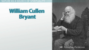 William Cullen Bryant literary style