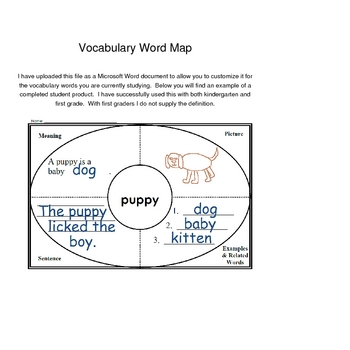 how to teach vocabulary words study