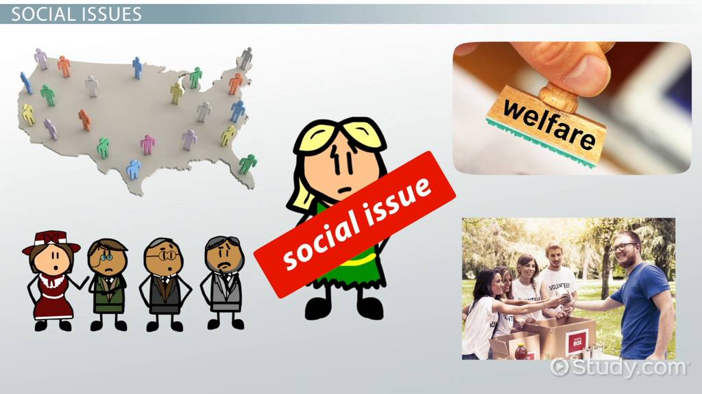 Social Issues Definition Amp Examples Video Amp Lesson