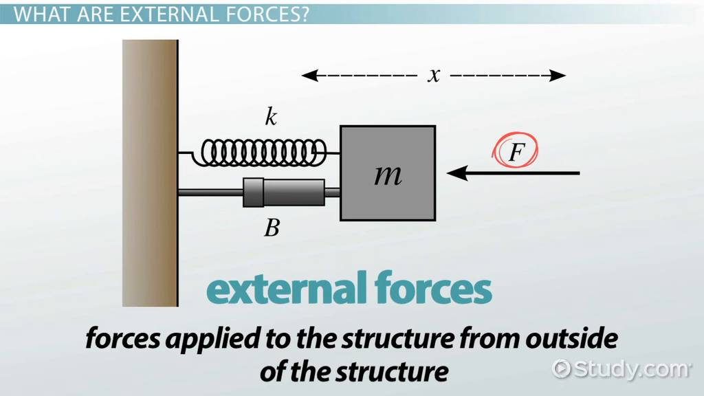 External Force Definition Amp Examples Video Amp Lesson