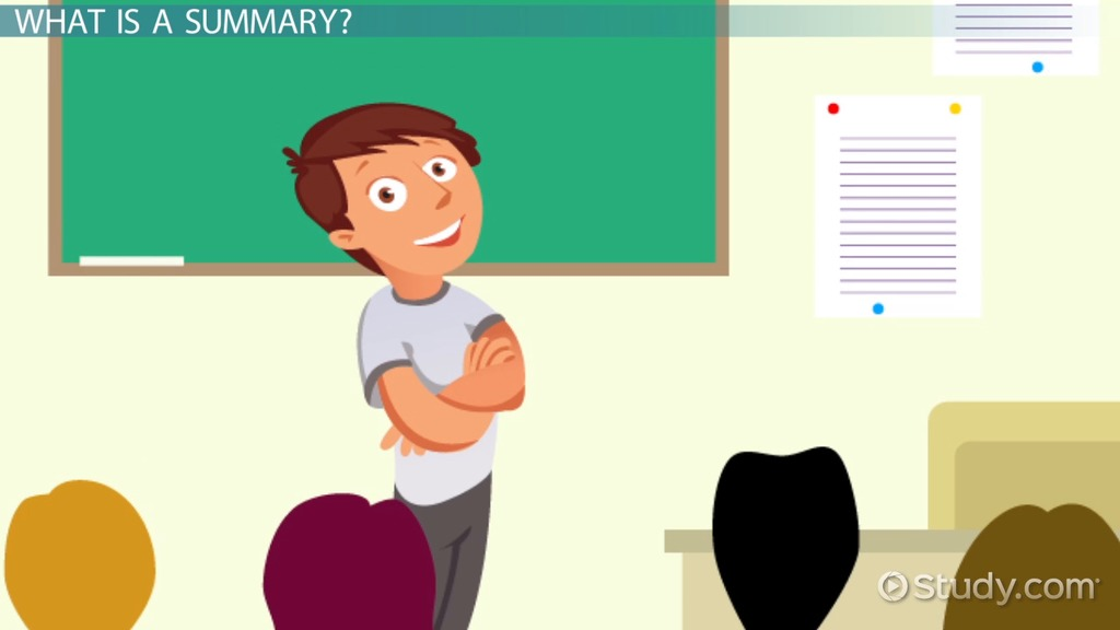 what is a summary  - definition  u0026 concept