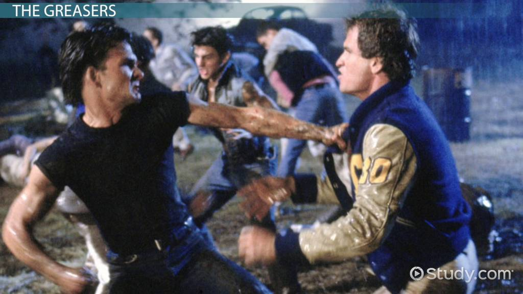 a review of the novel the outsiders Teen rivalry in a small southern town sets the stage for this dramatic interpretation of the novel by se hinton directed by francis ford coppola, the outsiders tells the story of the ongoing conflict between the greasers and the socs in rural oklahoma.