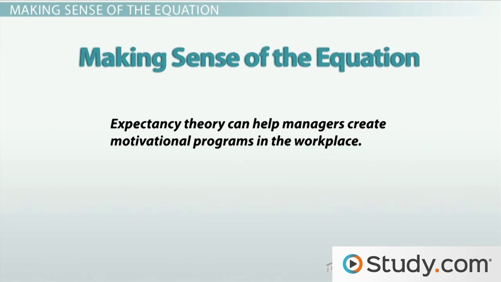 equity theory of motivation in management definition examples  vroom s expectancy theory of employee motivation