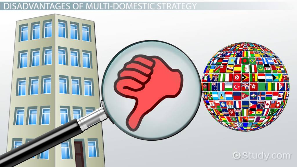 multidomestic strategy  definition  u0026 examples