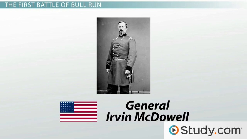 the first battle of bull run civil war blood is shed