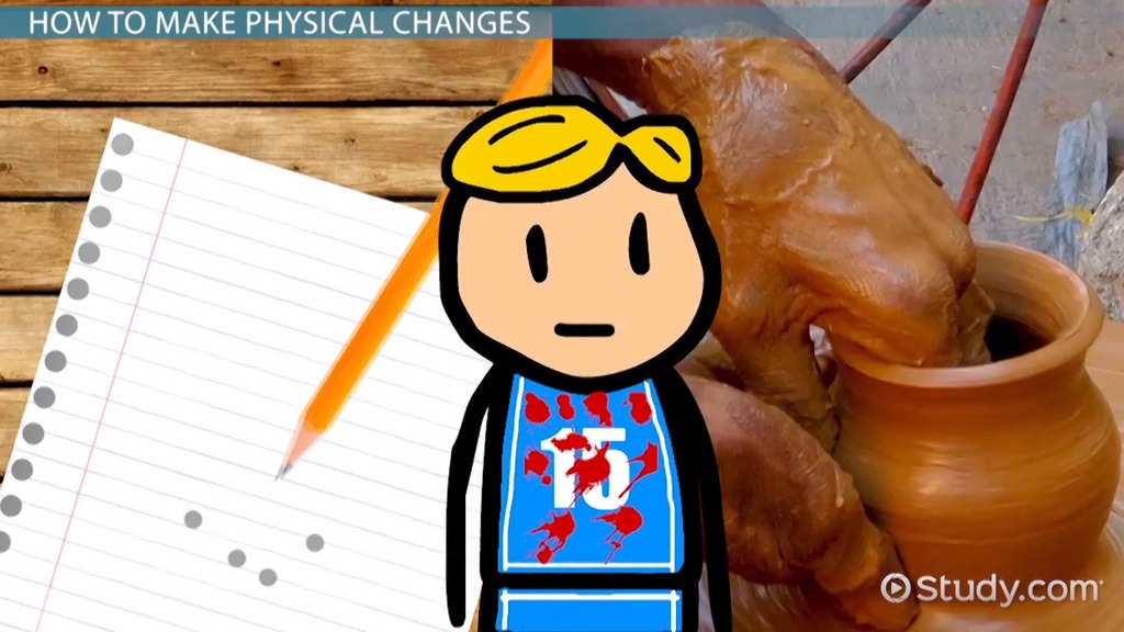 Physical Change Lesson For Kids Definition Examples Video