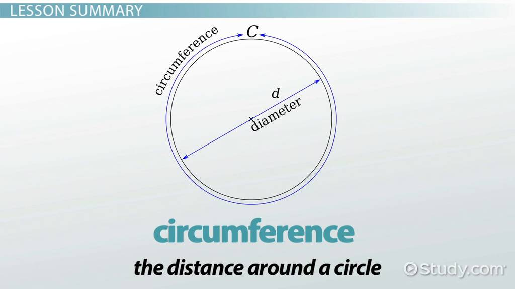 What Is Diameter Definition Formula Video Lesson Transcript
