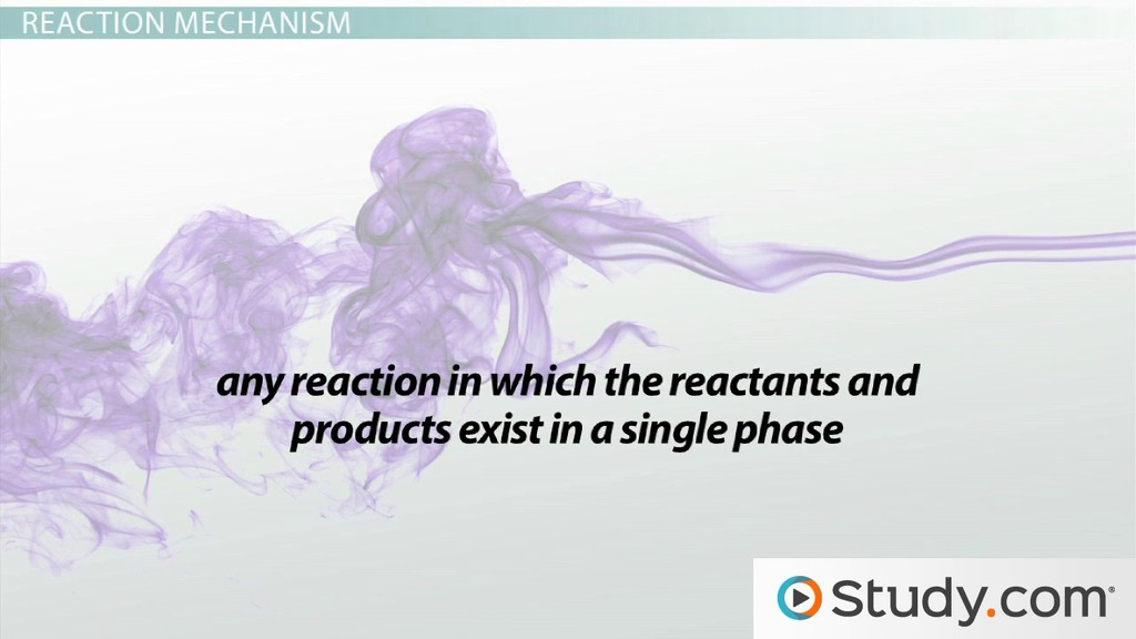 Reaction Mechanisms And The Rate Determining Step Video Lesson. Reaction Mechanisms And The Rate Determining Step Video Lesson Transcript Study. Worksheet. Worksheet Reaction Rates Chemistry A Study Of Matter Answers At Clickcart.co