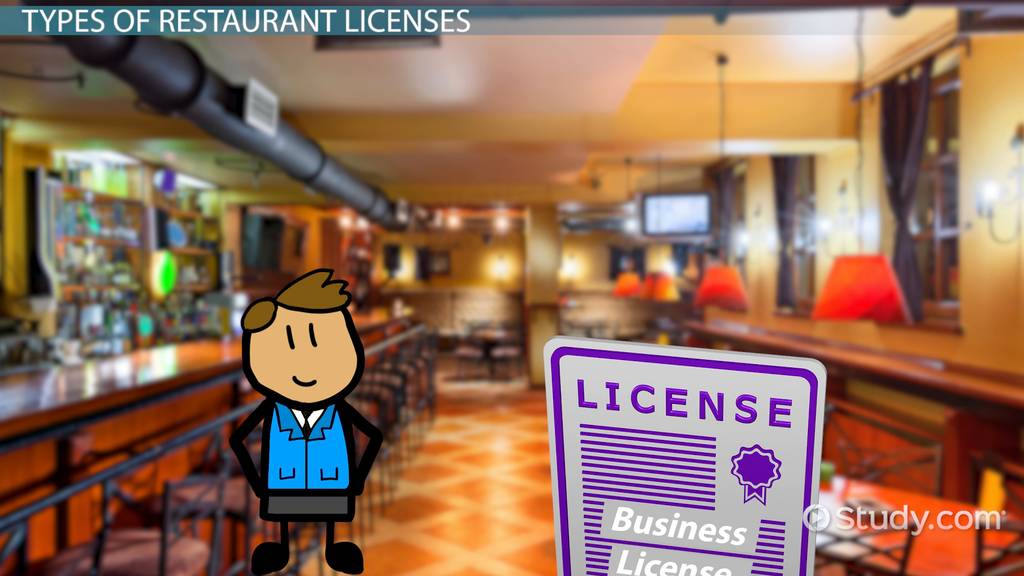 How To Get A Restaurant License Video Amp Lesson