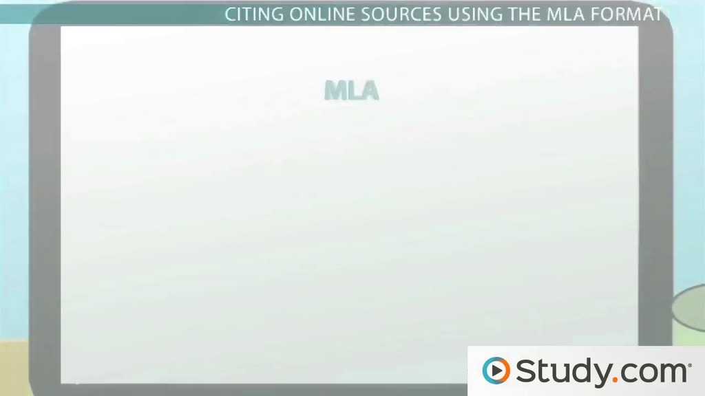 how to cite online sources video lesson transcript studycom