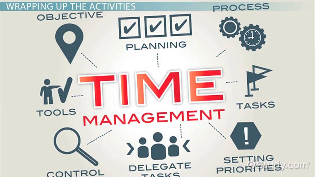 Time Management Group Activities Video Lesson Transcript – Time Management