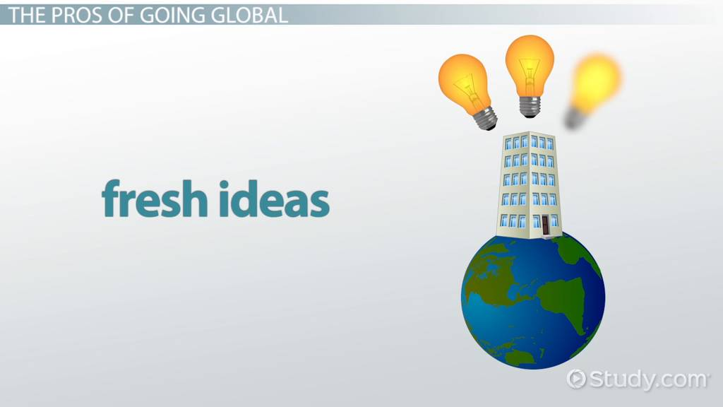 pros and cons of going international Offshore banking: pros and cons  legal way to make managing your money more convenient and flexible while you are abroad in our guide, we discuss the pros and cons of offshore banking  our article on international banking will help you ask the right questions so that you can have hassle-free access to your money.