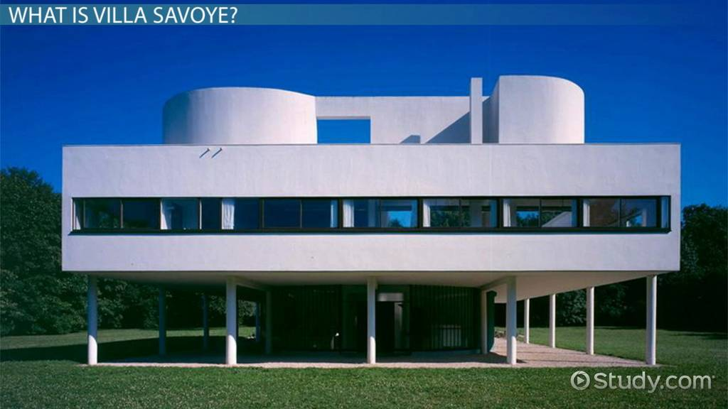Villa Savoye: Plans, Structure & Analysis - Video & Lesson Transcript |  Study.com
