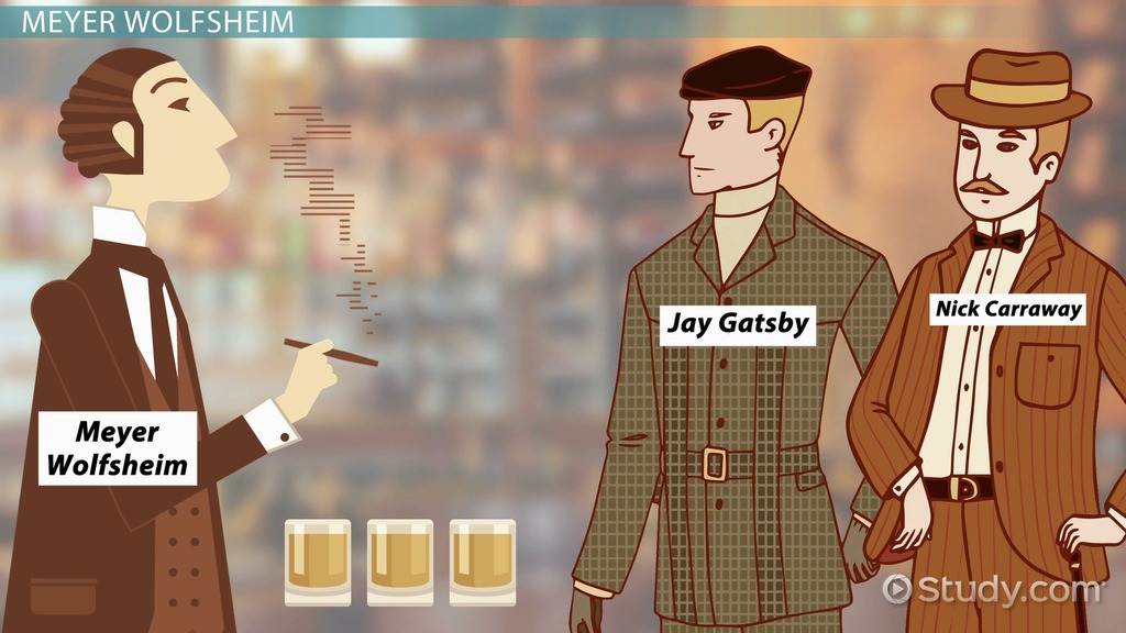 great gatsby theme and character anlysis The great gatsby chapter nine: summary character profiles and analysis of the themes sarah churchwell's acclaimed biography of the great gatsby.