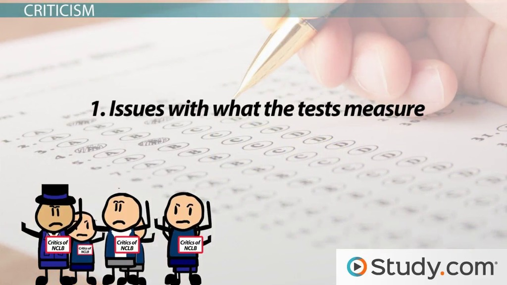 thesis statement for standardized testing Thesis statement: all of the reasons/ topic sentences above must connect to your thesis statement standardized tests are an unfair measure of students' intelligence and academic performance therefore, the tests must be changed drastically or abandoned.