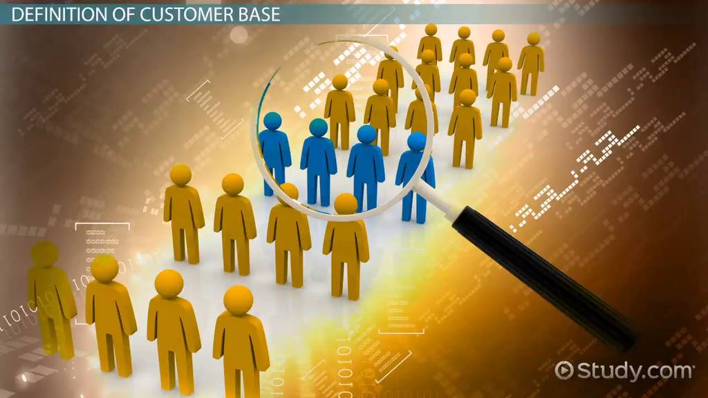 Customer Base Definition Amp Overview Video Amp Lesson
