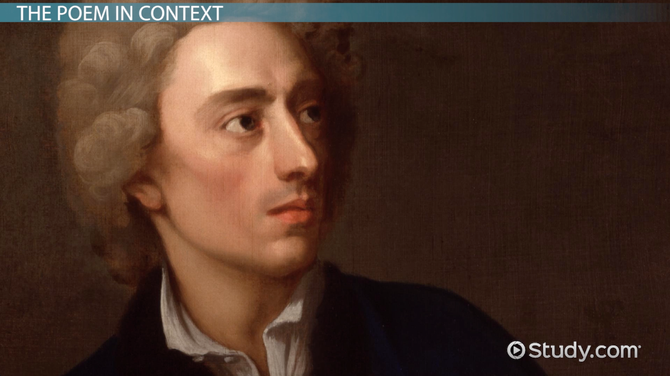 Alexander pope epistle 2 essay man