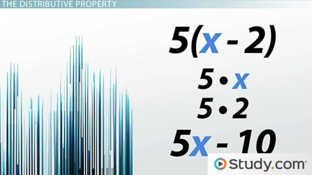 Distributive Property Definition Use Exles Video Lesson. Applying The Distributive Property To Linear Equations. Worksheet. Distributive Property Variables Worksheet At Mspartners.co