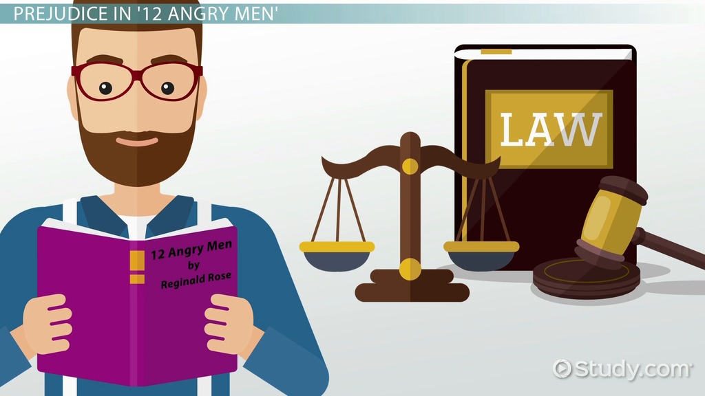 prejudice in angry men video lesson transcript com