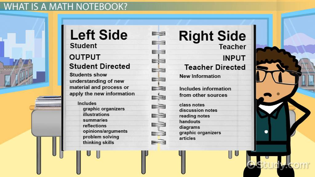 math notebook rubric examples video amp lesson transcript