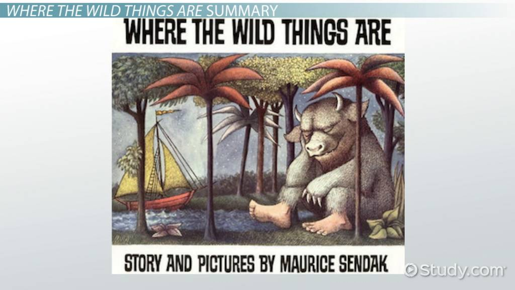 where the wild things are  summary  u0026 characters