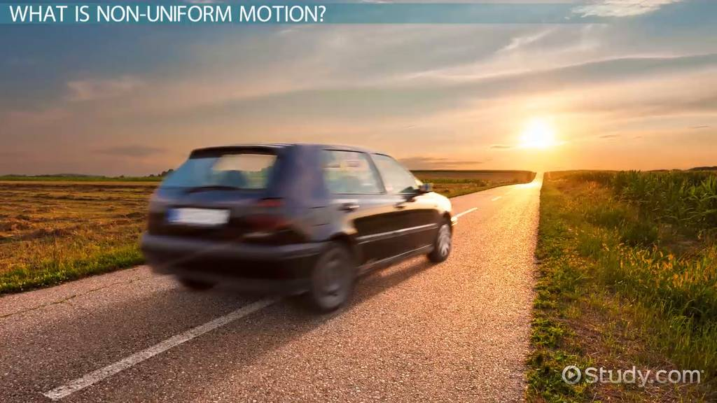 what is non-uniform motion