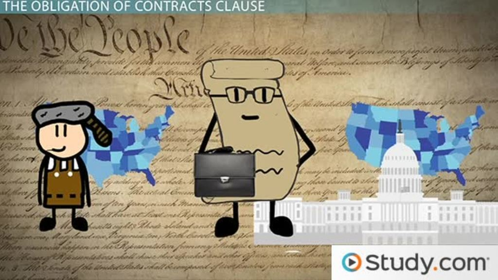 contracts clause  examples  u0026 definition