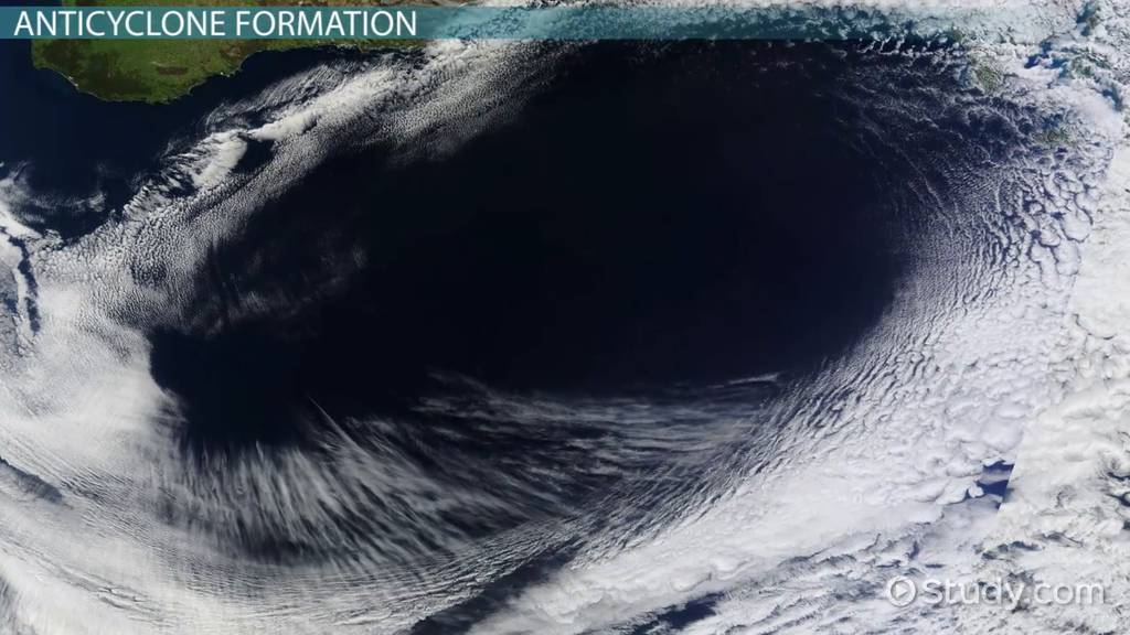 The Characteristics Amp Formation Of Anticyclones Video