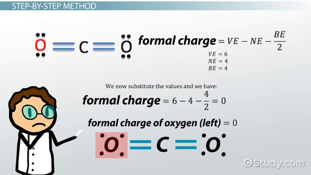 Calculating Formal Charge Definition Formula Video Lesson