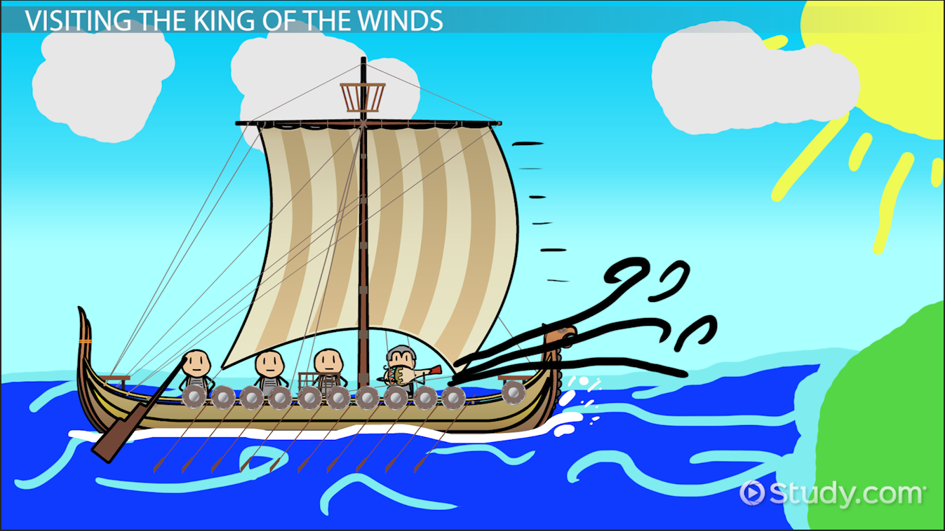 themes of the odyssey video lesson transcript com who was odysseus story adventures travels