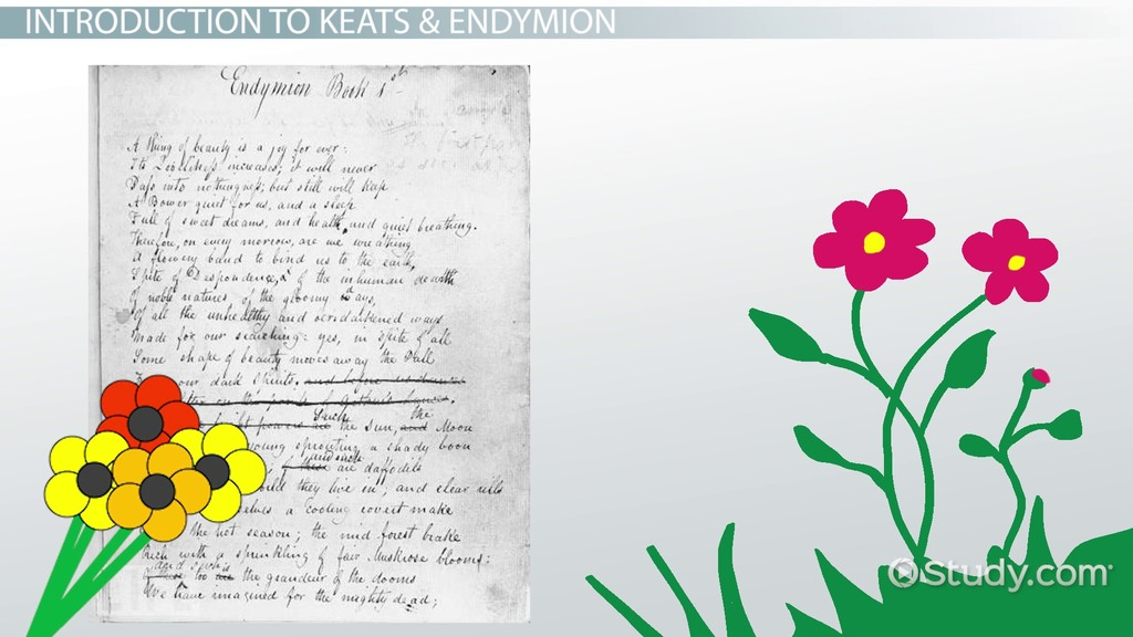 endymion a poetic r ce by keats summary analysis video  endymion a poetic r ce by keats summary analysis video lesson transcript com