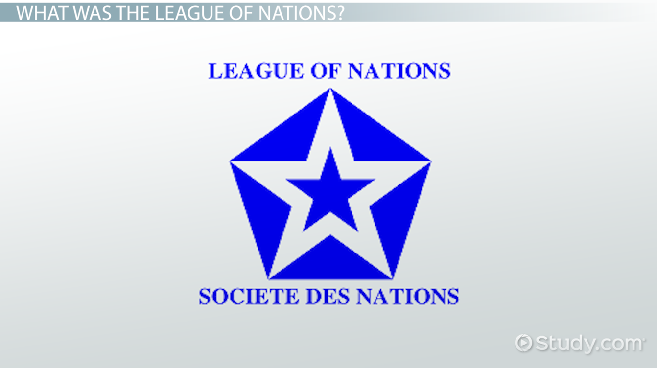 Essay on the league of nations