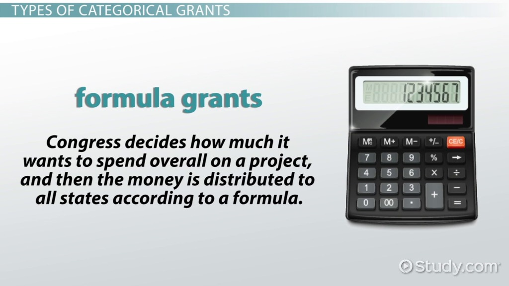 categorical grants  definition  u0026 examples
