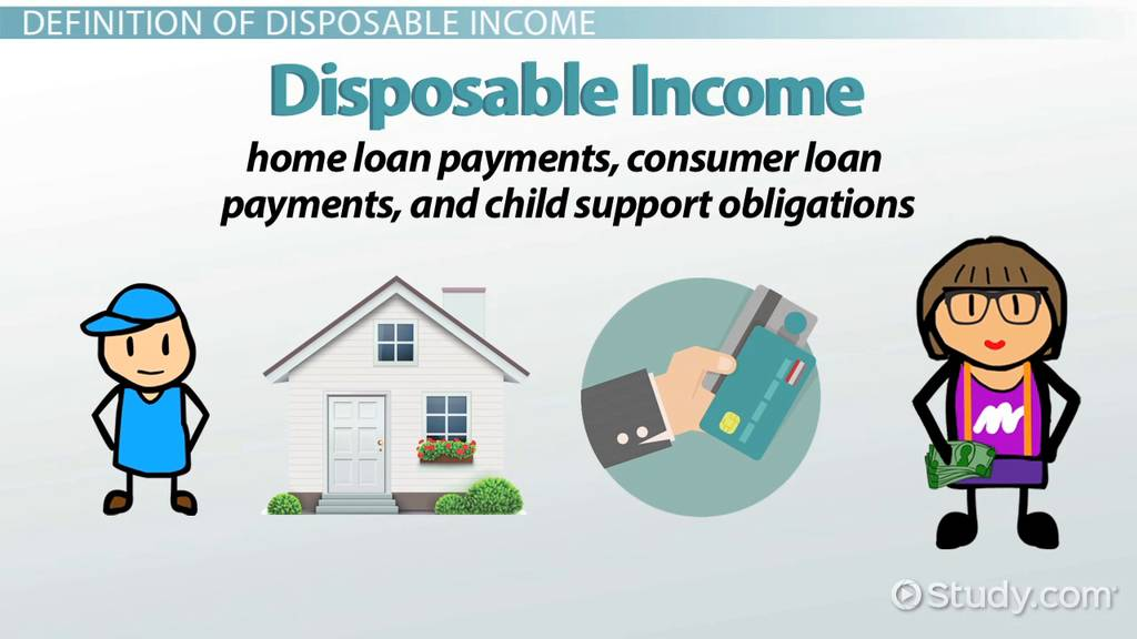 What Is Disposable Income? - Definition & Explanation - Video & Lesson Transcript | Study.com