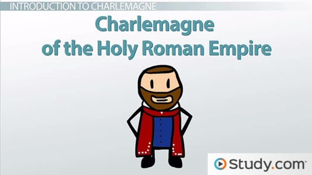 charlemagne s holy r empire and the divine right to rule  charlemagne s holy r empire and the divine right to rule video lesson transcript study com