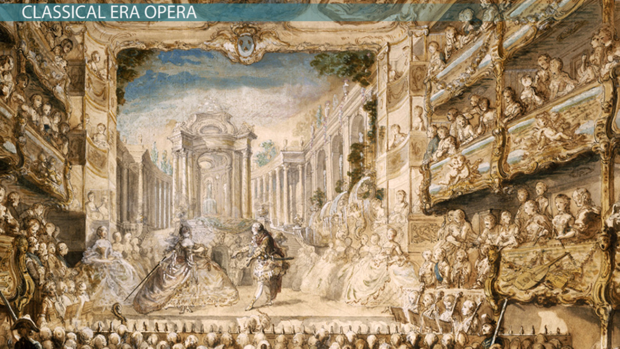 Classical era opera mozart and popular operas video for Sa old house music