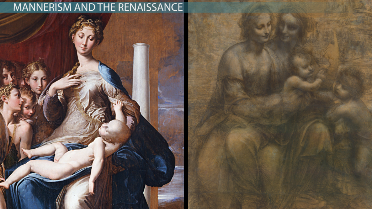 linear perspective in renaissance art definition example works comparing mannerist and renaissance art