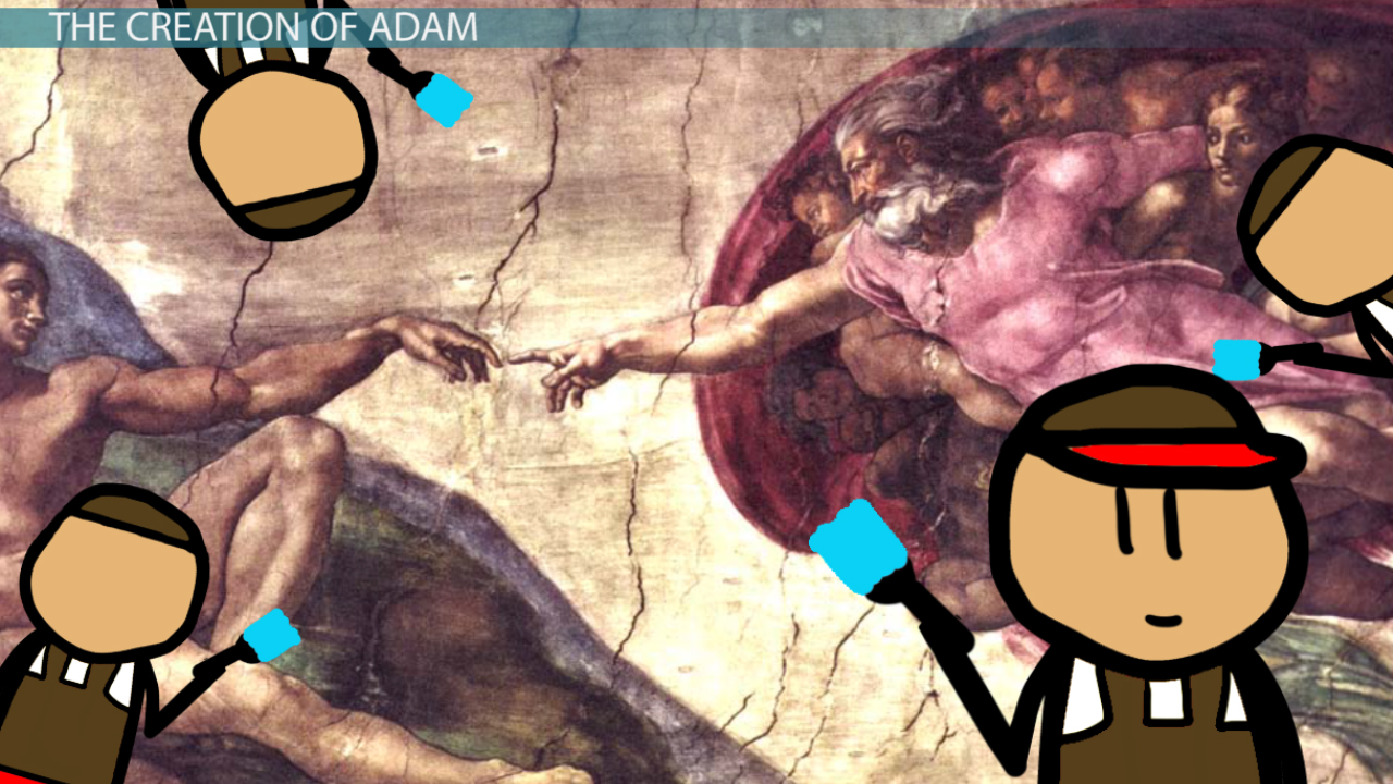 the creation of adam essay The creation of adam by michelangelo: analysis & overview chapter 16 /  lesson 18  comparing the restored and unrestored creation of adam la  pieta by michelangelo:  how to write a good essay on your go to how to  write a.