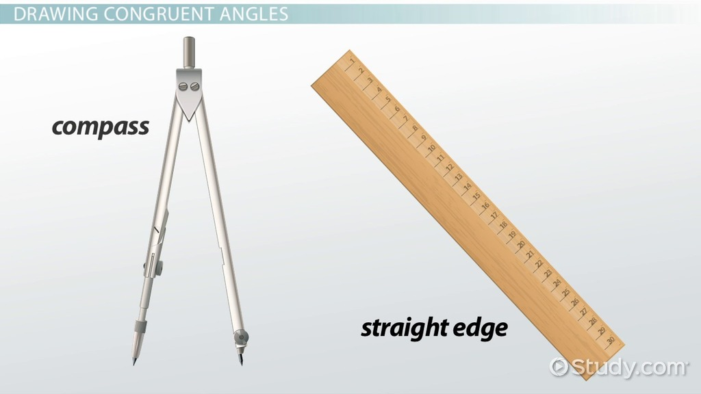 Congruent Angles Definition Examples Video Lesson Transcript