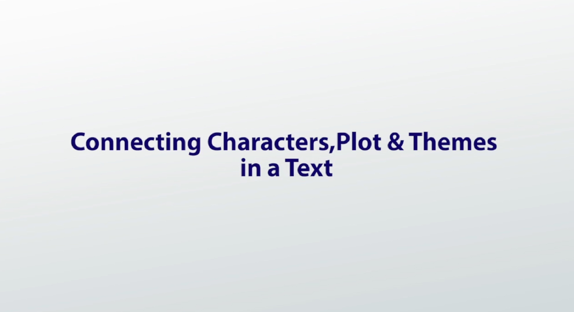 setting in literature definition importance examples video connecting characters plot themes in a text