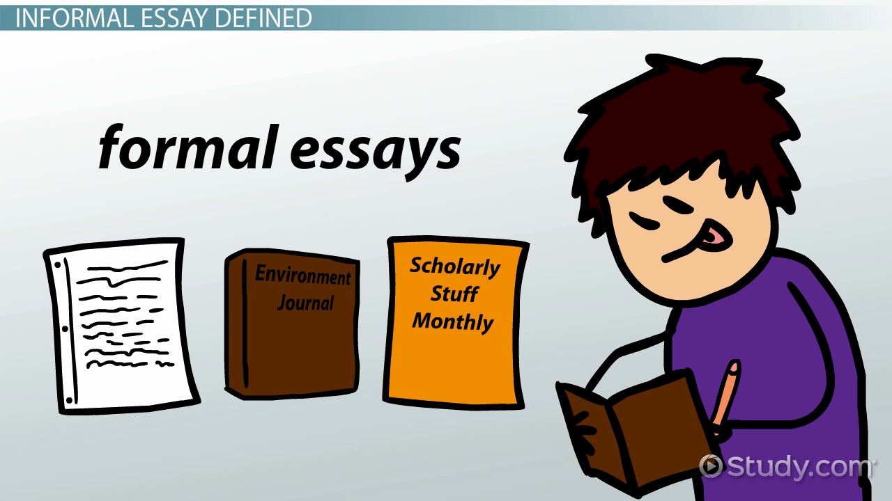 essay literary terms