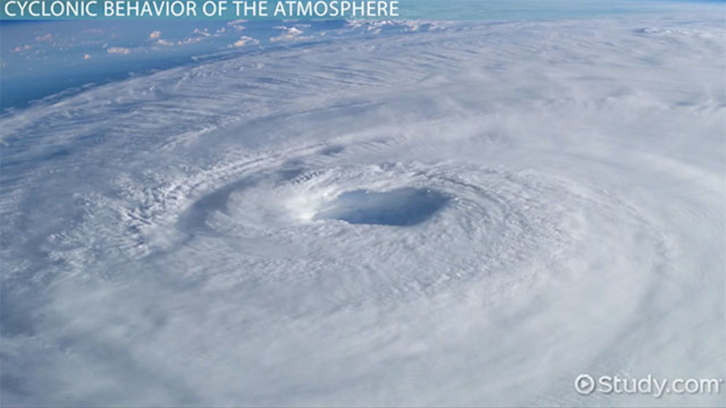 The structure of the atmosphere video lesson transcript study cyclones anticyclones ridges troughs ccuart Images