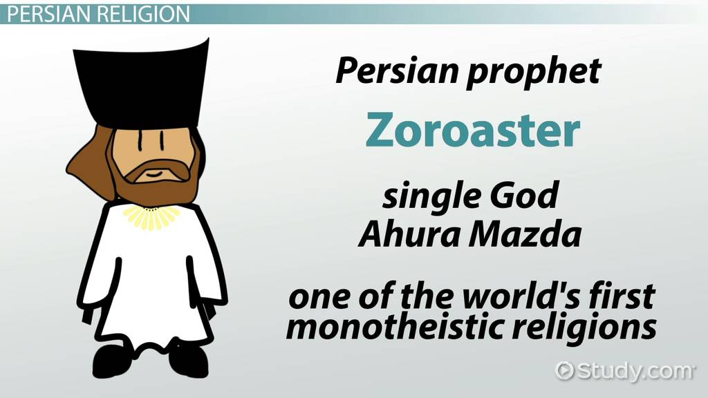 Zoroastrianism Definition Beliefs History Video Lesson